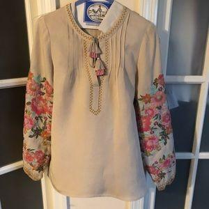 Spell cleo blouse xs EUC